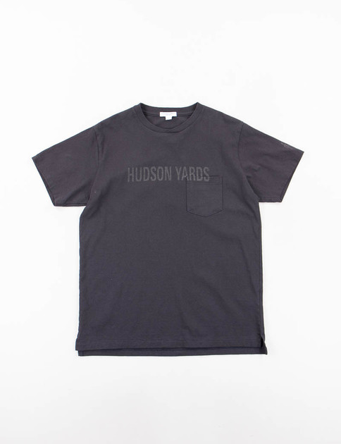 Navy Hudson Yards Printed T–Shirt
