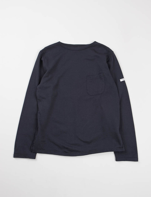 Dark Navy French Terry Bask Shirt