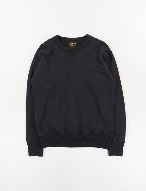 Black Single V Warm Up Sweat
