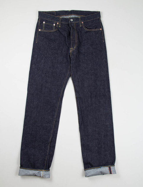 Indigo One Rinse Classic Straight Jean Lot 50–091A