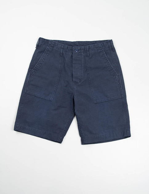 Navy Baker Shorts