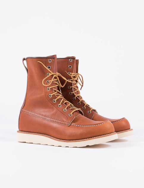 "Oro Legacy 877 Heritage 8"" Moc Toe Boot"