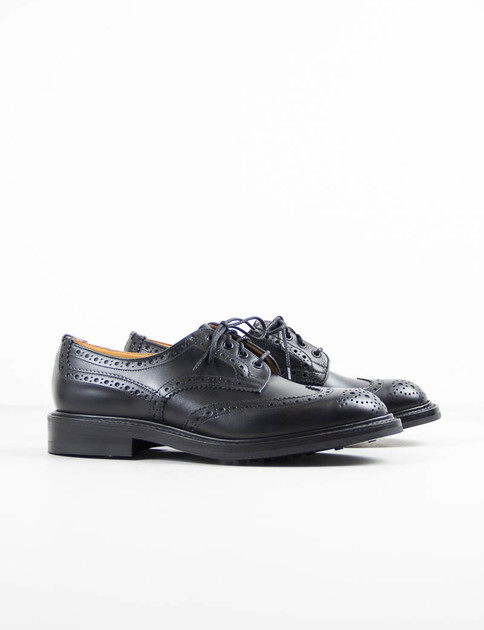 2–Tone Black Keswick Derby Brogue