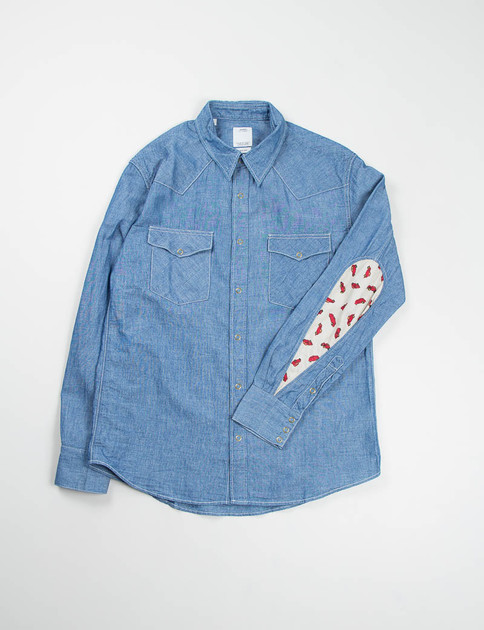 Blue SS Albacore Chambray Shirt