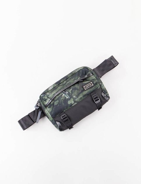 Dark Green Camo Nowartt Waist Bag