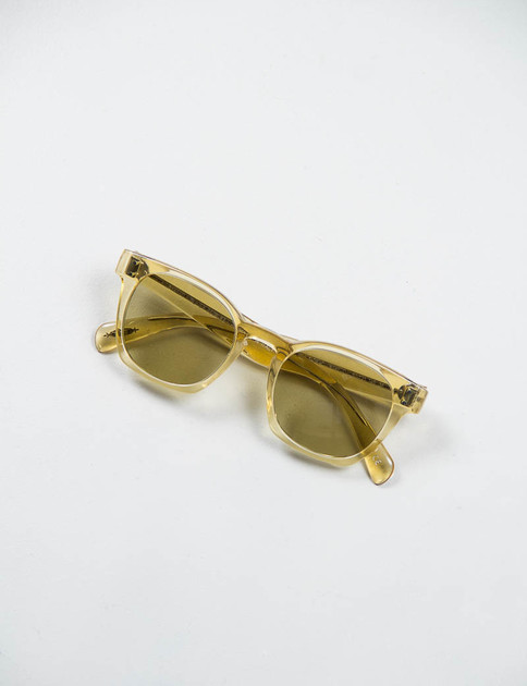 Beige Crystal/Green Byredo Sunglasses