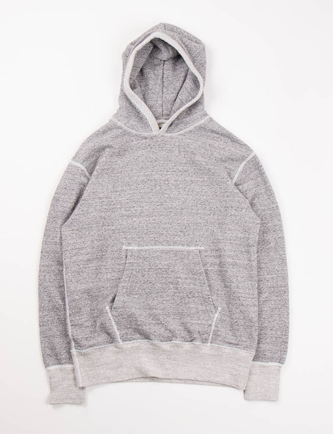 Dark Grey Pullover Parka
