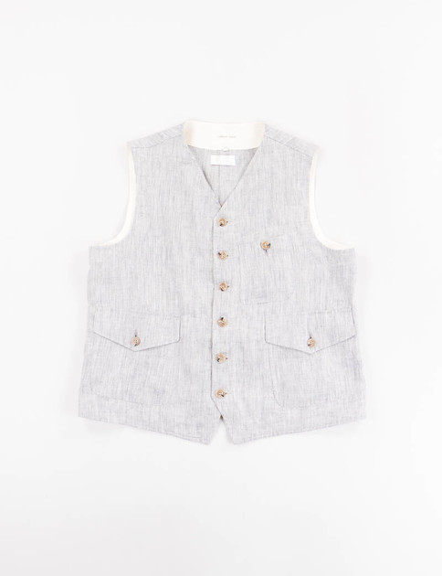 Light Blue 3 Pocket Waistcoat