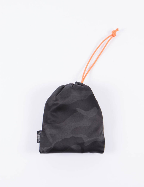 Black Camo Shopping Bag S