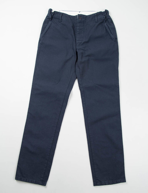 Navy Cotton Serge Petanque Pants