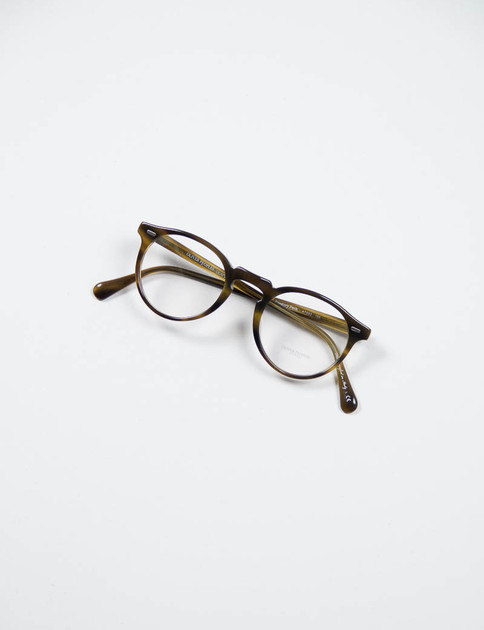 Moss Tortoise Gregory Peck Optical Frame