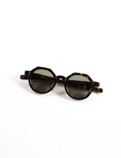 Dark Brown Tortoise Diplomat Sunglasses
