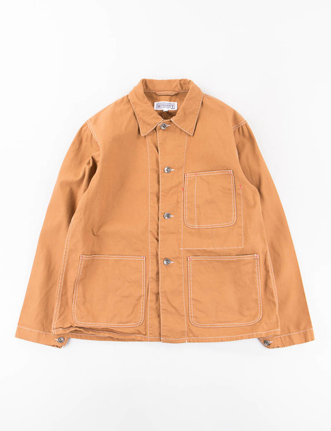 Brown 10oz Cotton Duck Utility Jacket