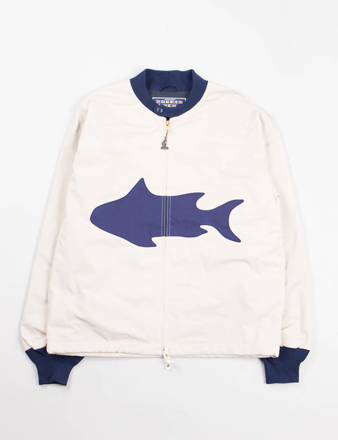 Fish M–Mac x Wakouwa Paneled Boat Jacket