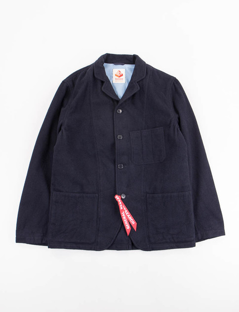 Navy/Red Phisherman's Tail Jacket