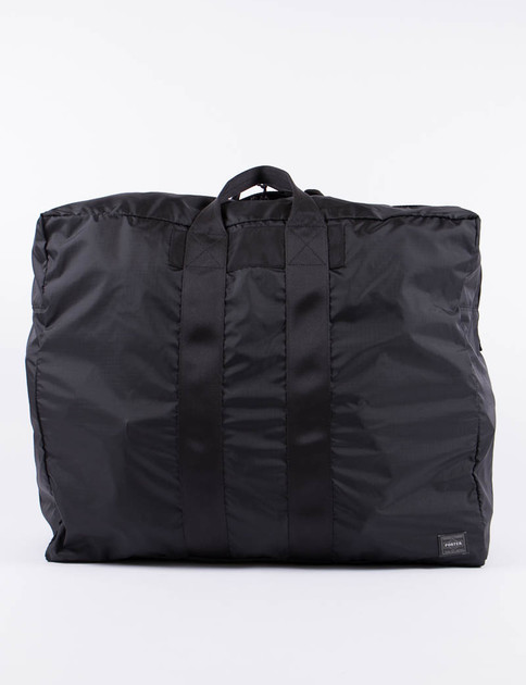 Black Flex 2Way Duffle Bag L