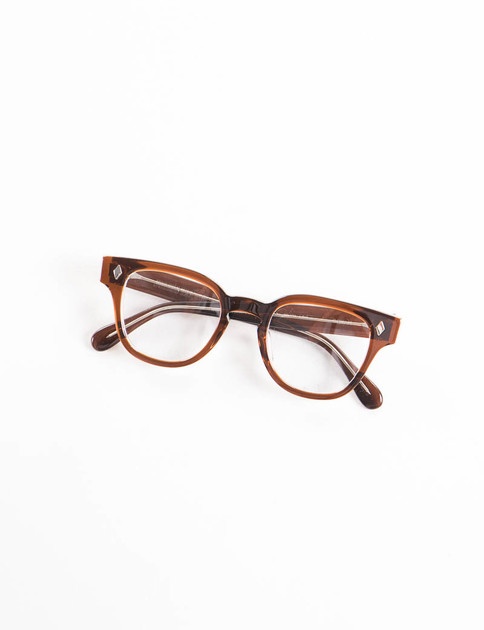 Brown Crystal BRYAN Optical Frame