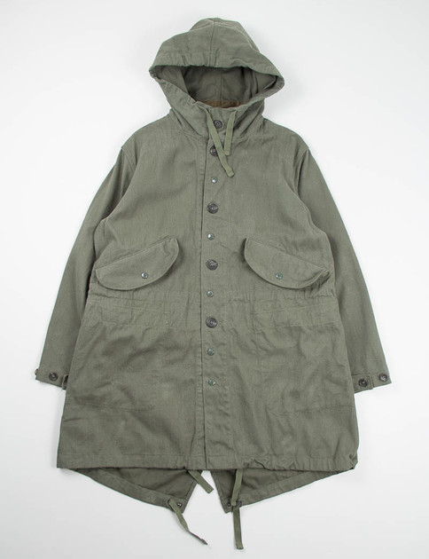 Olive 12oz Bull Denim Highland Parka