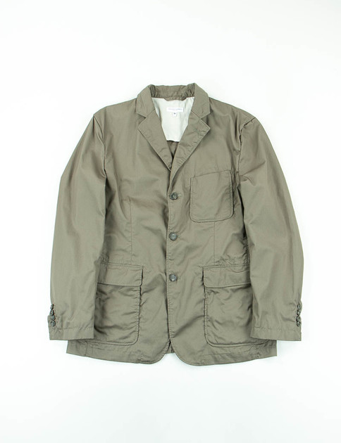 Olive High Count Twill Baker Jacket