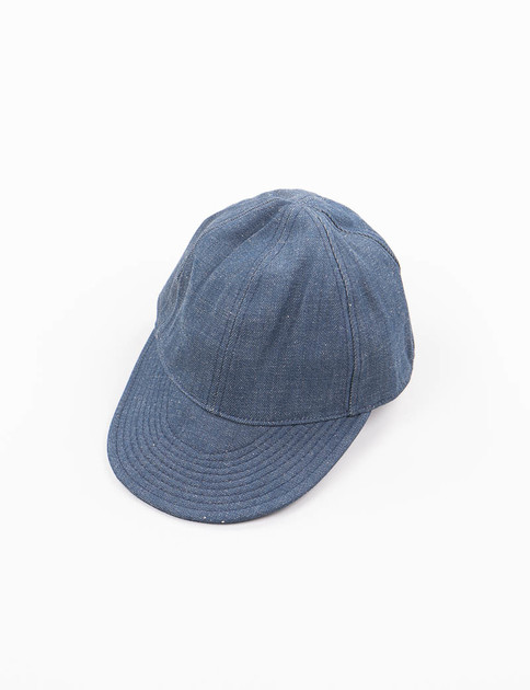 Lybro Blue Selvage Denim USMC Cap
