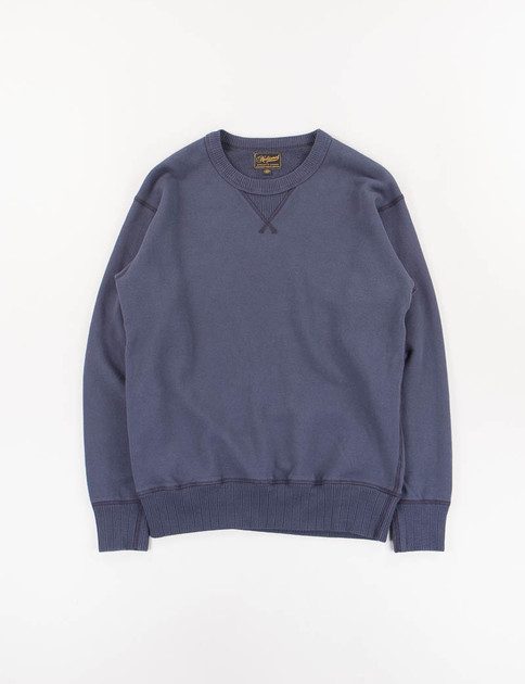 Navy Single V Warm Up Sweat