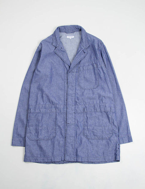 Blue Dungaree Cloth Shop Coat