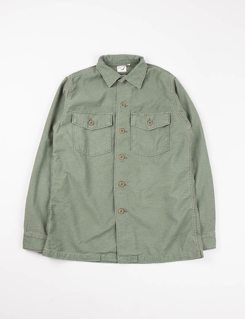 Used Green US Army Shirt