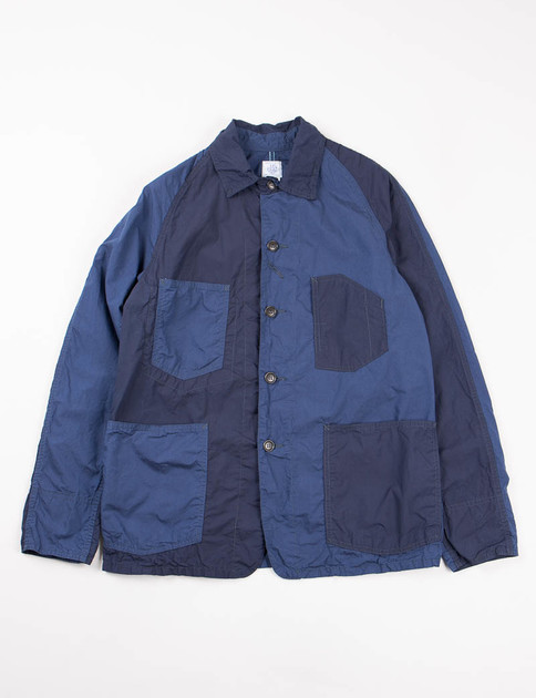 Navy Combo Cotton Broadcloth Engineer's XXW Jacket