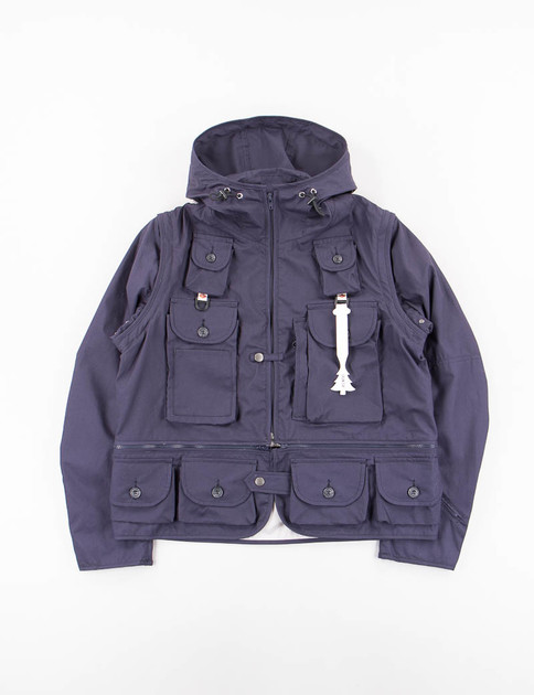 Navy Game Pocket Hoody