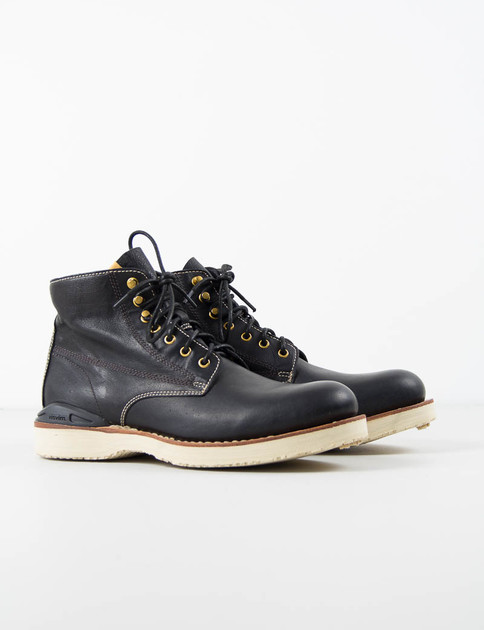 Black Virgil Boots–Folk