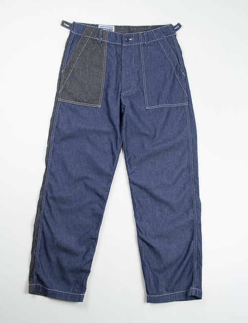 Navy/Black Combo 6oz Denim Fatigue Pant