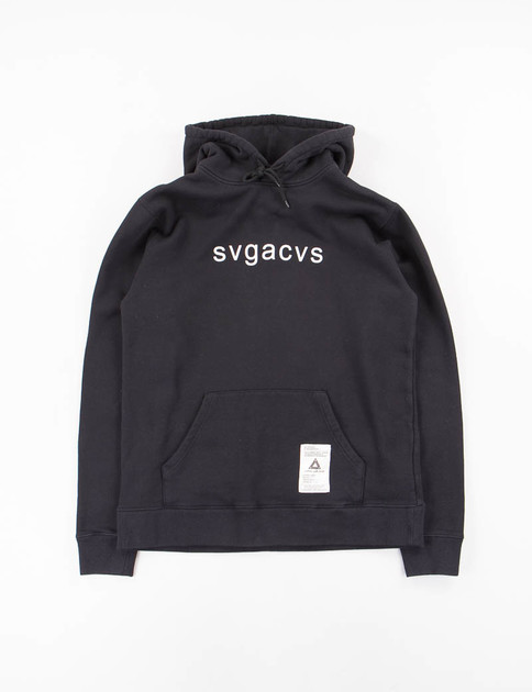 Black SVG C–Hooded Sweat