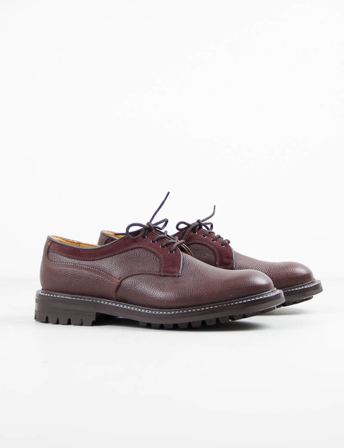 Brown Zug 2–Tone Plain Derby