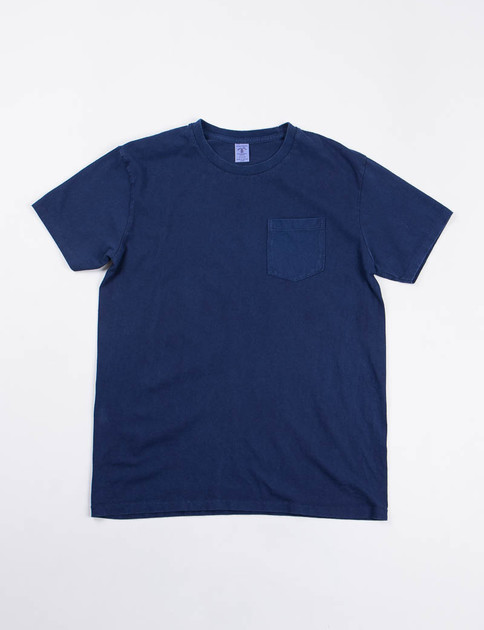 Blue Indigo 1–Pac Pocket Tee