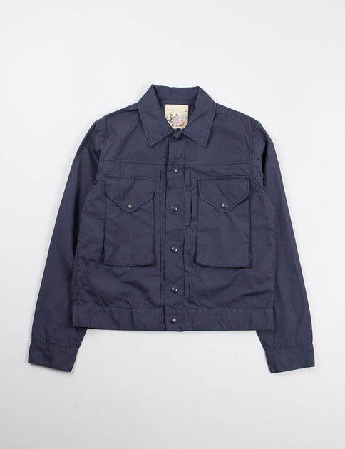 Navy Vancloth Hunting Jacket