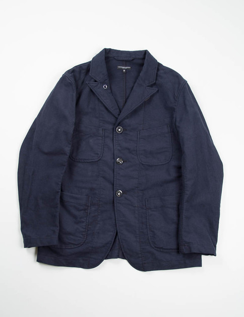 Dark Navy Moleskin Bedford Jacket