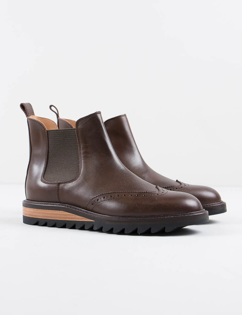 Dark Brown Brique Boot