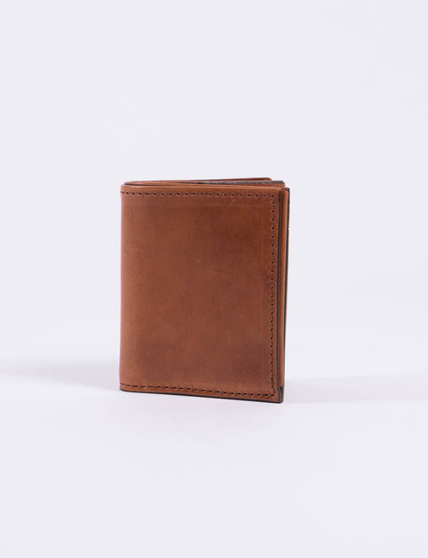 Buck Brown Bi–Fold Wallet