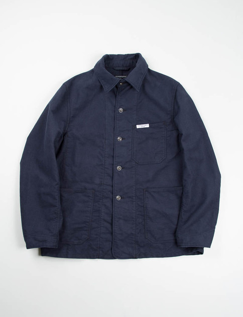 Dark Navy Moleskin Portview Jacket