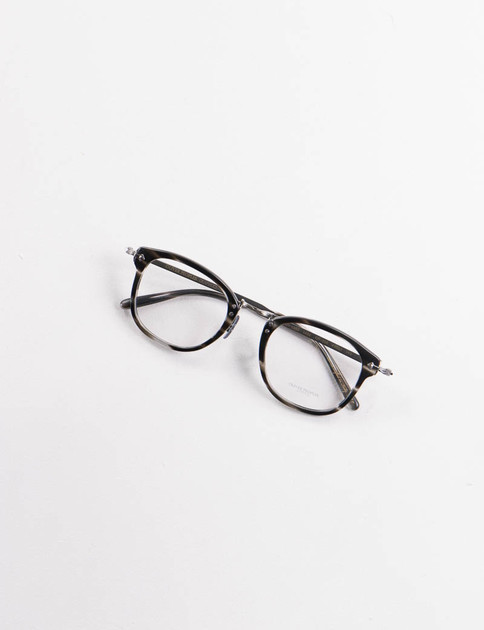 Semi–Matte Ebonywood Vintage OP–506 Optical Frame