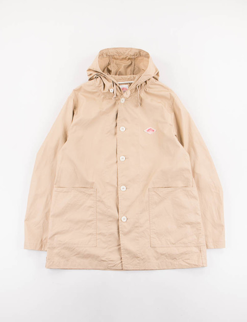 Tan Downproof Food Parka