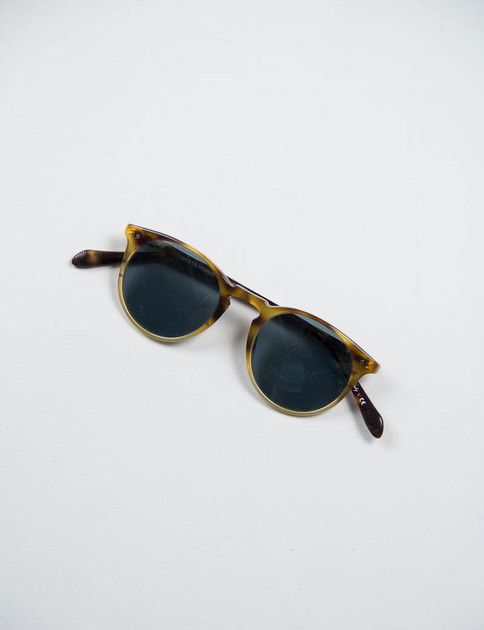 Vintage Brown Tortoise Gradient Sir O'Malley Sunglasses