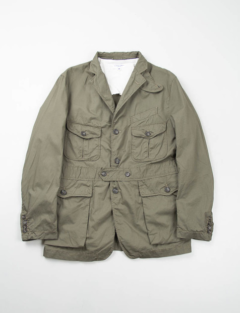 Olive French Twill Ghurka Jacket