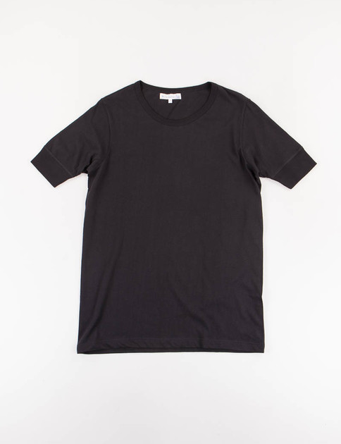 Deep Black 1960s Organic Army Tee