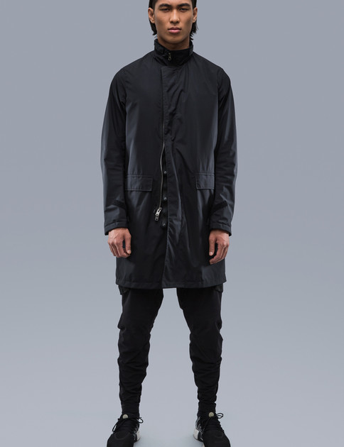 J46U–WS Black 2L Windstopper Coat