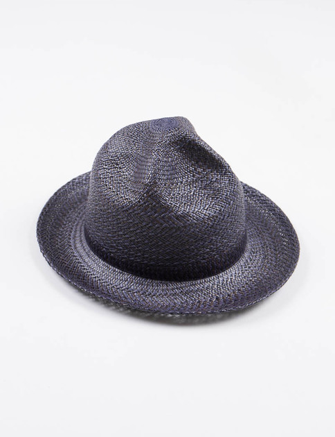 Navy/Black Panama Mountain Hat