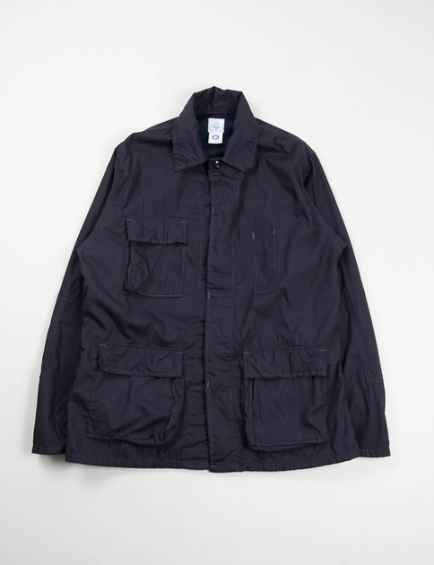Navy Broadcloth BDU Jacket