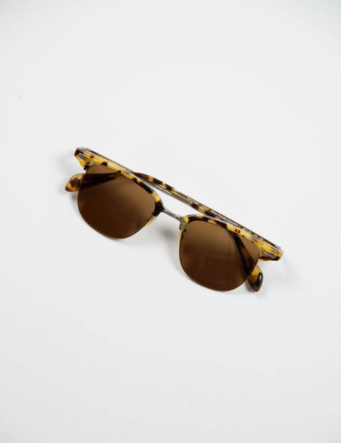 DTB/Antique Gold Executive I Sunglasses