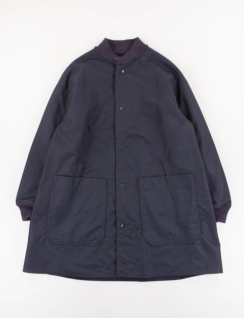Dark Navy PC Poplin/Melton Liner Jacket