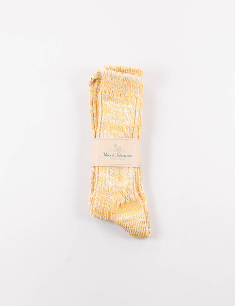 Yellow Melange 271 Organic Cotton Socks
